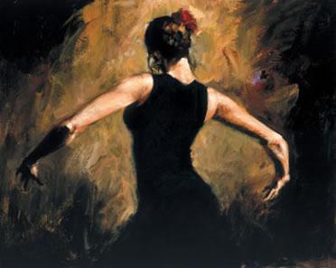 Rhythm of the Dance (Board) by Fabian Perez