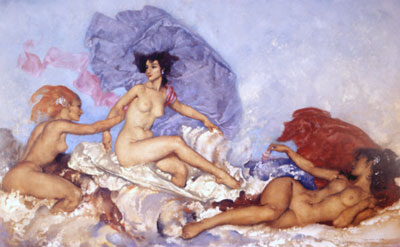 Rococo Aprhodite by Russell Flint