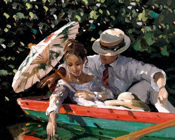 Romance On The River by Sherree Valentine Daines