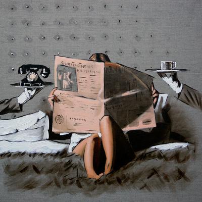 Run the world Study by Richard Blunt