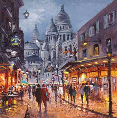 Sacre Coeur, Midnight