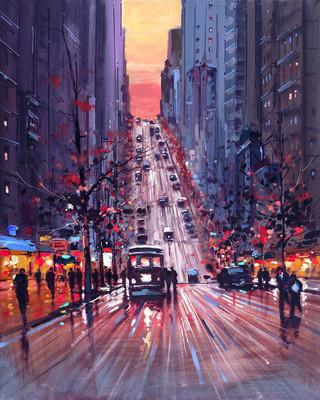 San Francisco Dawn by Henderson Cisz