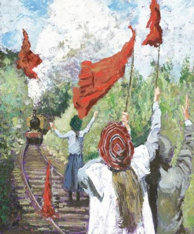 Saved By Red Bloomers - The Railway Children