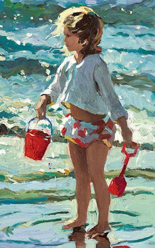 Seaside Sandcastles by Sherree Valentine Daines