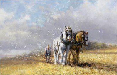 Song of the Plough by David Shepherd