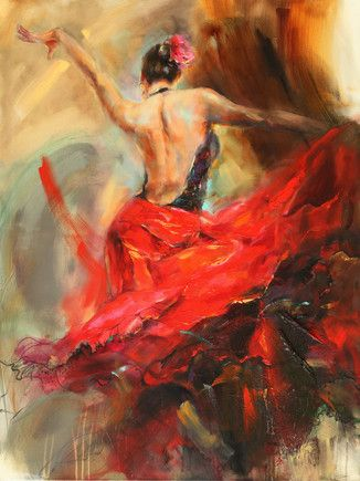 Spanish Heat by Anna Razumovskaya