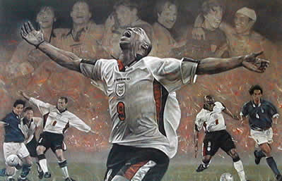Spirit Of England - Ian Wright World Cup Qualifier 98