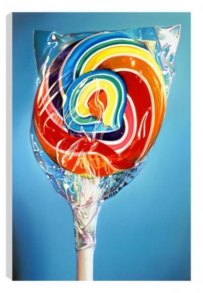 Still Life - Rainbow Swirl (Canvas) by Sarah Graham