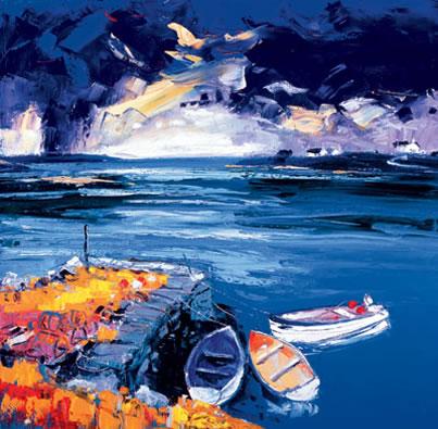 Storm Bunessan Pier