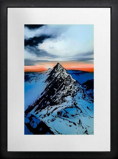 Striding Edge, Helvellyn by Richard King