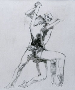 Study For Forgetful Of Virtue by Robert Heindel
