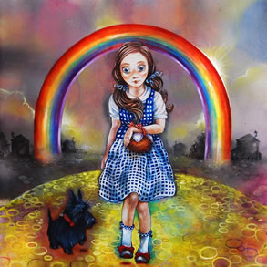 Study of Dorothy for the Wizard of Oz by Kerry Darlington