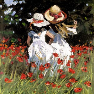 Summer Poppies by Sherree Valentine Daines