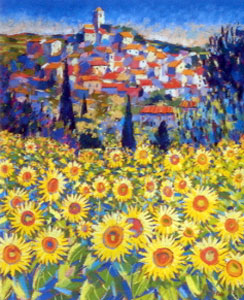 Sunflowers Le Revest-Les-Eaux