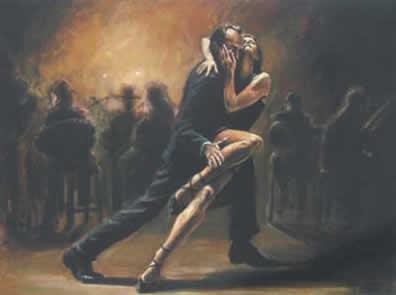 Tango (Board) by Fabian Perez
