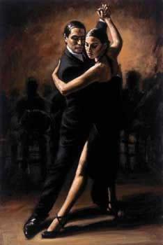 Tango VI by Fabian Perez
