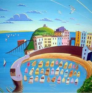 Tenby Harbour small