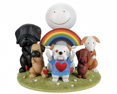 Thank you- Sculpture by Doug Hyde