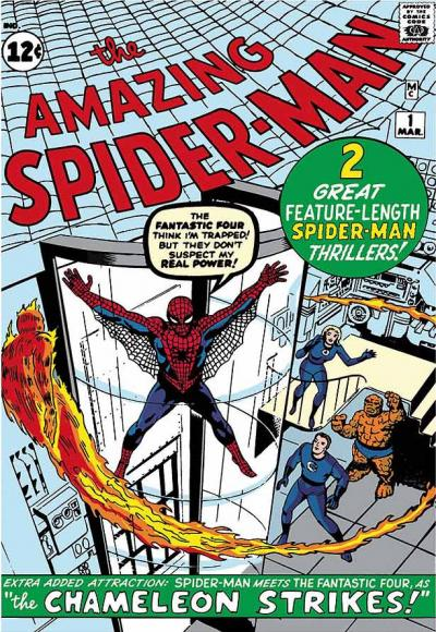 The Amazing Spider-Man #1 - Spider-Man Meets The Fantastic Four small