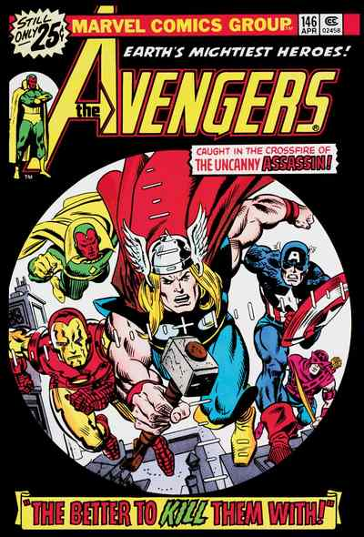 The Avengers #146 by Stan Lee  Marvel Comics
