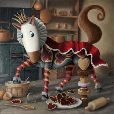 The Cantering Caketacular Queen of Bakes by Peter Smith