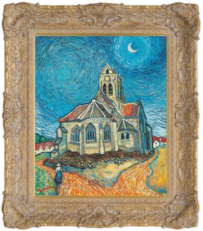 the-church-at-auvers-in-the-style-of-vincent-van-gogh-20672