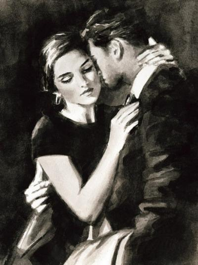 The Embrace VIII by Fabian Perez