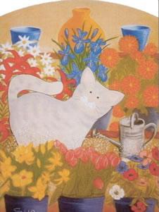 The Florist's Cat- Blossom