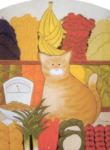 The Greengrocer's Cat- Spud