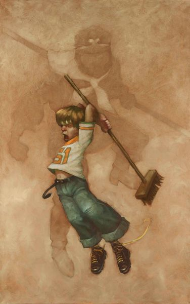 The Nature of Monkey Was Irrepressible by Craig Davison
