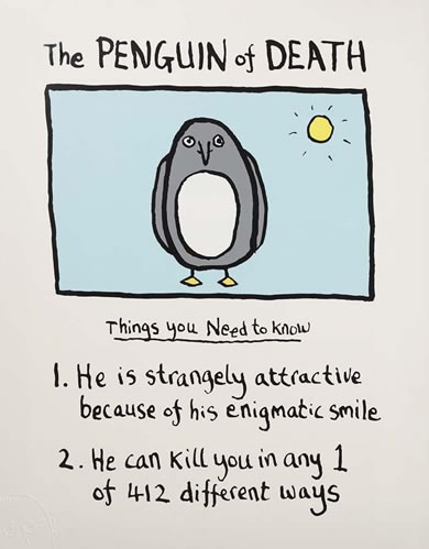 The Penguin Of Death small