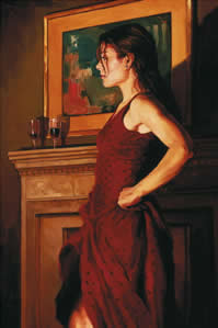 The Red Dress - On Board by Mark Spain