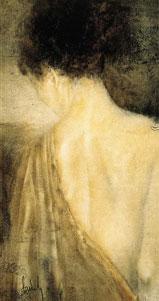 The Silk Robe - Canvas