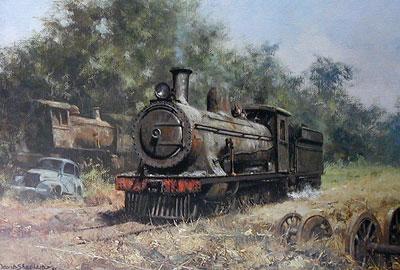 The Zambezi Sawmills Railway by David Shepherd