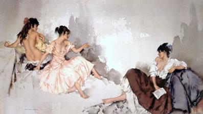 Three Girls by Russell Flint