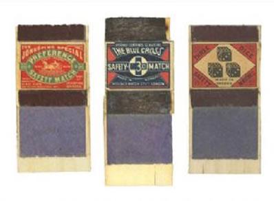 Three Match Boxes