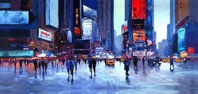 Times Square by Henderson Cisz