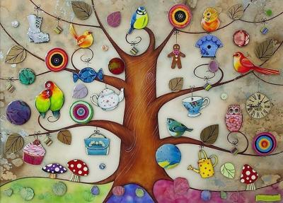 Tree of Gifts by Kerry Darlington