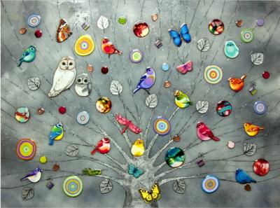 Tree of Life - Platinum by Kerry Darlington