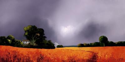 Umber Landscape by Barry Hilton