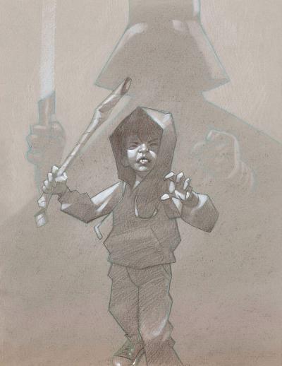 Underestimate - Sketch by Craig Davison