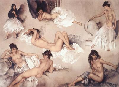 Variations II by Russell Flint