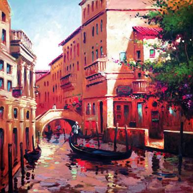 Venetian Glow by Henderson Cisz