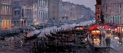 Venetian Lamplight by Henderson Cisz