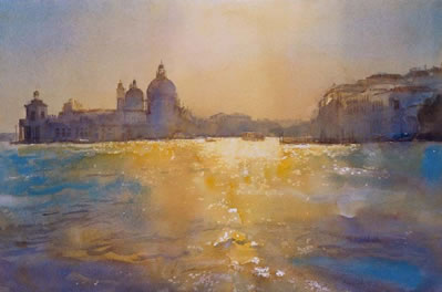 Venice Sunlight On Water by Cecil Rice