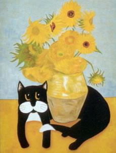 Vincent Van Gogh's Cat- Misfit
