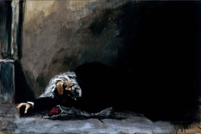 Waiting For The Romance To Come Back II by Fabian Perez