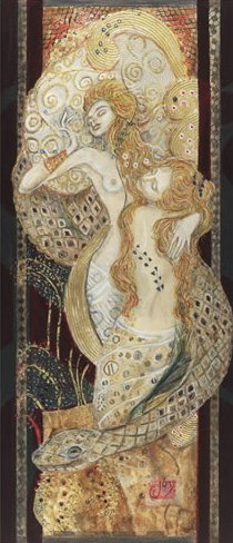 Water Serpent II by Joy Kirton Smith