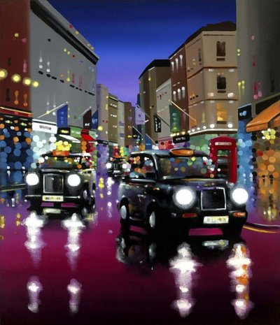 West End Nights by Neil Dawson