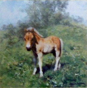 When I Grow Up I Want To Be A Cart Horse (Cameo) by David Shepherd